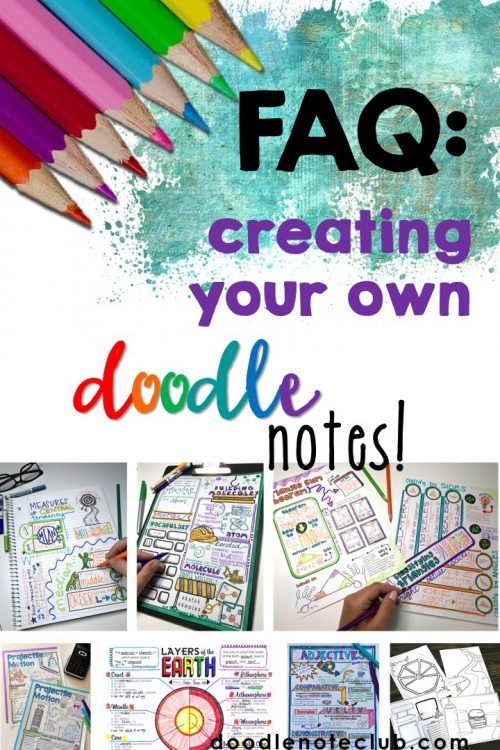 Faq Creating Doodle Notes Doodle Note Club